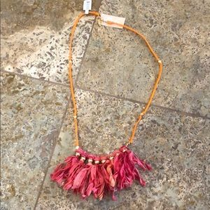 Fringe LF necklace